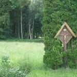 Kreuz zwischen Siebnach und Traunried vom Vater von Hans Gut erstellt