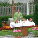 Heilige Messe mit dem Ettringer Pfarrer Pater Michael