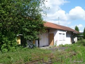Der Bahnhof heute