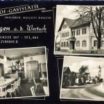 Ansichtskarte aus den 50ern