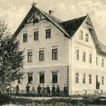 Die Bahnhofsgaststätte 1915