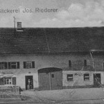 Bäckerei Riederer 1932