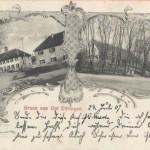 Ansichtskarte von 1907