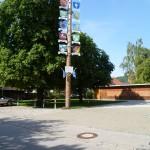 Garten vom Gasthaus Kreuz