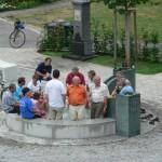 30. Juli 2006 Die ersten Badegäste