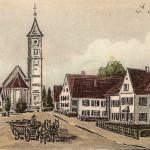 Zeichnung um 1920