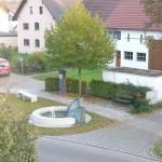 Brunnenplatz am 27. Oktober 2011