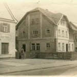 Polizeistation in Ettringen in den 50ern