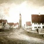 Hauptstraße um 1900