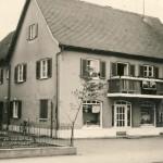 Geschäftshaus in den 60ern