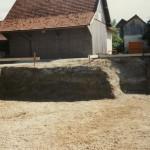 Der Stadel dient heute als Materiallager