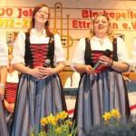 Das Gesangsquartett (von links): Sabine Lang, Julia Lang, Nicole Schmidt und Lisa-Maria Böck. Foto: Maria Schmid MZ