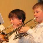 Auch die Jüngsten zeigten beim Konzert ihr Können. Foto: Maria Schmid MZ
