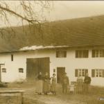 Etwa 100 Jahre alte Aufnahme