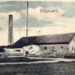 Das Ettringer Sägewerk um 1900