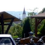 Einkehr im Café Berghof in Tussenhausen
