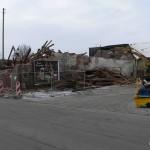 Abbruch des Stadels im Dezember 2009