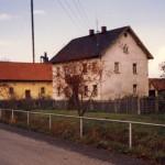 Aufnahme kurz vor dem Abbruch im Oktober 1986