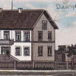 Das Dampfsägewerk im Jahre 1901