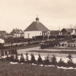 Einweihung des neuen Friedhofs 1952