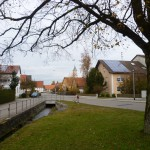 Ansicht im November 2012 - die Linde wurde 1934 gepflanzt
