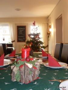 Weihnachten 2012 im Café Gutschabäck