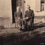 Das Austragsehepaar Zech um 1950