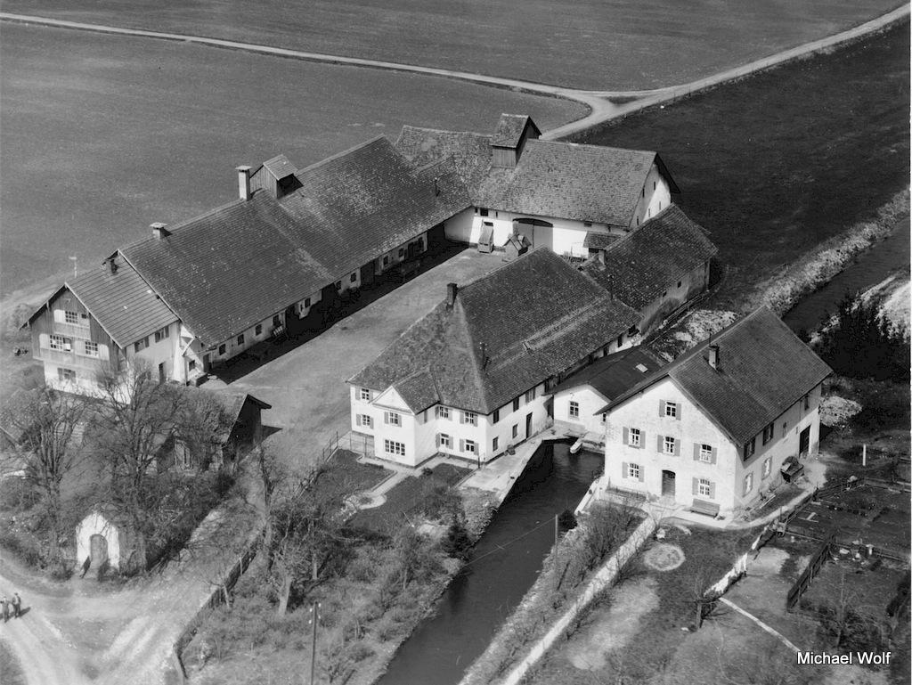 Luftaufnahme von 1957