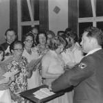 Der Ettringer Liederkranz unter Leitung von Walter Fehle