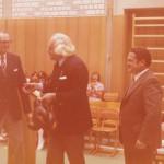 Einweihung der neuen Turnhalle am 22.10.1975