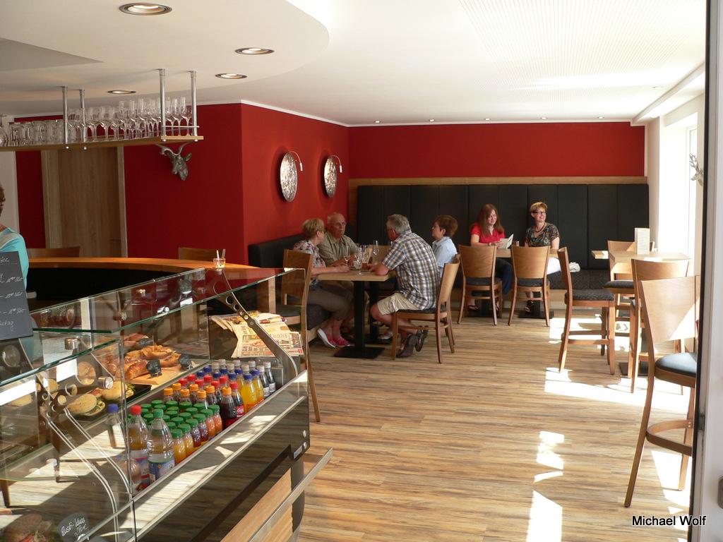 eröffnung eines cafes