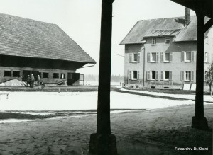 Der Pisterhof 1968 kurz vor dem Abbruch