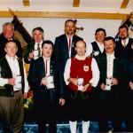 v.o.l. 2.Bgm. Aigster, Emil Hummel, Josef Reißner, Georg Schmid, 1.Bgm. Sturm, Johann Sirch, Michael Schmid, Peter Pfandzelter, Walter Schmid, Gerhard Steber