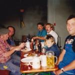 Juli 1992 Grillfest mit Böck Will und Kögel Manfred