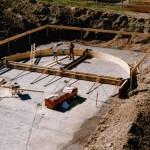 26.09.1991 Belebungsbecken: Schalung Bodenplatte