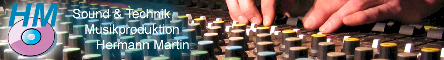 Musikproduktion Martin