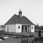 Die neue Leichenkapelle 1952