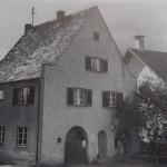 Das Firmen- und Wohnhaus nach der Firmengründung