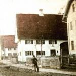 Hauptstraße 15 um 1900