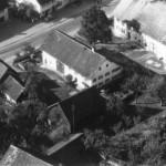 Luftaufnahme des Anwesens 1954