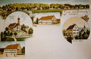 Ansichtskarte von Siebnach 16.08.1900