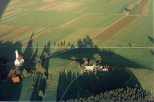 Blick auf die Kirchwiesen