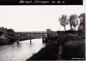Hölzerne Wertachbrücke