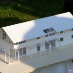 Modell des Neuen Pfarrheims