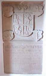 Gedenkstein für Thurnhuber in der St.-Martins-Kirche