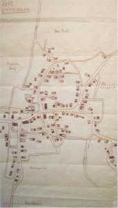Ortsplan von 1812