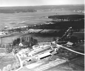 Gut Ostettringen (Süd-Ost-Ansicht von 1957)