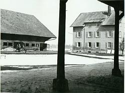 Pisterhof vor dem Abbruch 1968