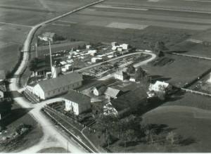 Ehemaliges Sägewerk 1957