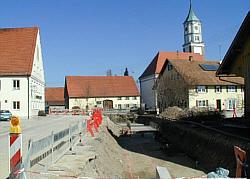 Baustelle März 2003